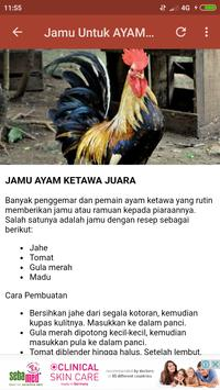 Ayam Ketawa JAWARA screenshot 7