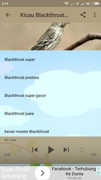 Kicau Burung Blackthroat screenshot 4