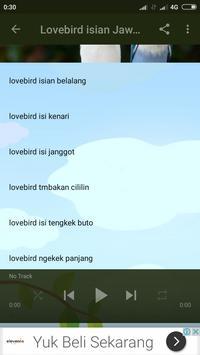 Kicau Lovebird Jawara screenshot 3