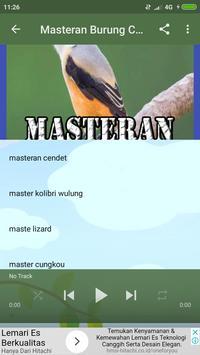 Masteran Burung Cendet JUARA screenshot 5