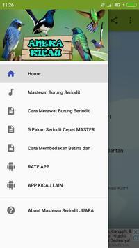 Masteran Serindit Juara poster
