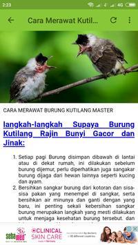 TOP Kicau Kutilang MASTER screenshot 5