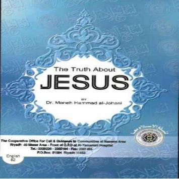 The truth about Jesus poster