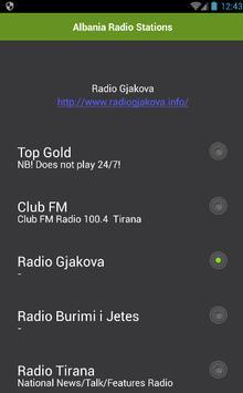 Albania Radio Stations poster