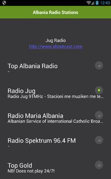 Albania Radio Stations apk screenshot
