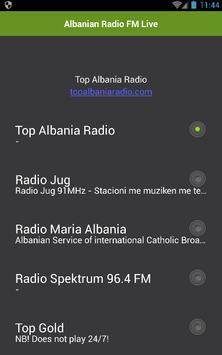 Albanian Radio FM Live poster