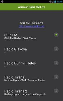 Albanian Radio FM Live apk screenshot