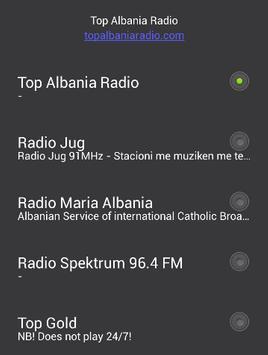 Albania radio free screenshot 1