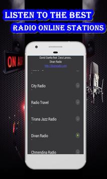 Albania radio Free poster