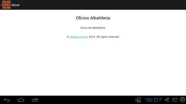 Curso de albañileria screenshot 4