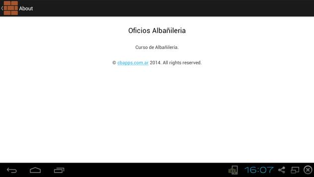 Curso de albañileria screenshot 9