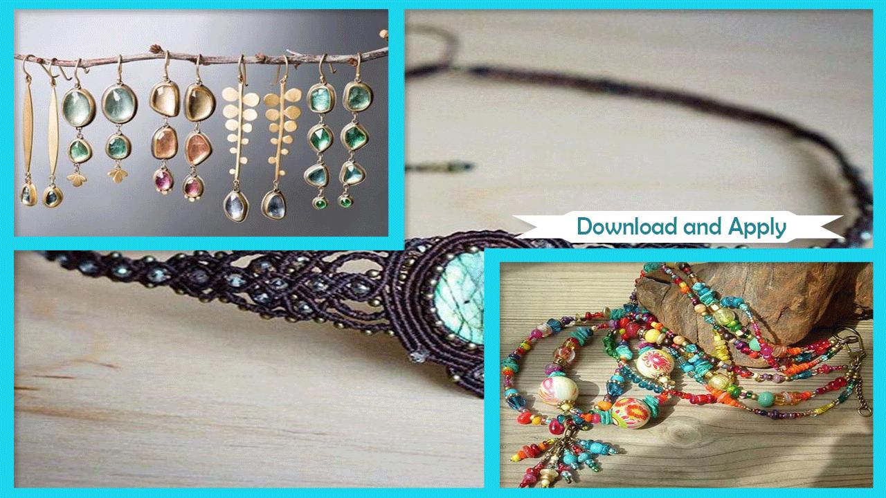 Beauty Bohemian Jewelry Ideas poster