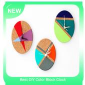 Best DIY Color Block Clock icon