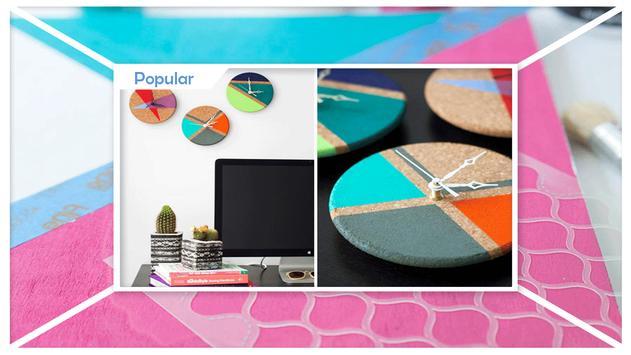 Best DIY Color Block Clock apk screenshot
