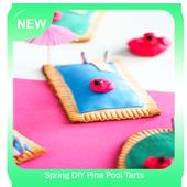 Spring DIY Pina Pool Tarts icon