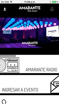Amarante DJ poster