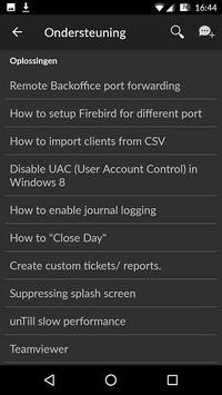 unTill Support screenshot 2