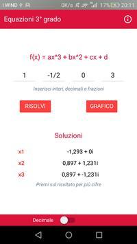 Equazioni Terzo Grado poster