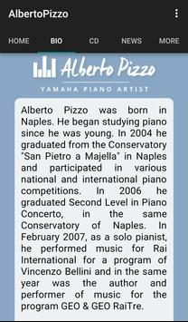 Alberto Pizzo, pianist screenshot 3