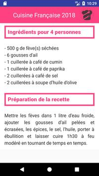 Cuisine Française 2018 screenshot 2
