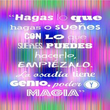 Motivational Quotes - Spanish screenshot 1