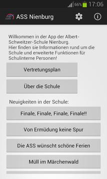 SchulApp ASS Nienburg poster