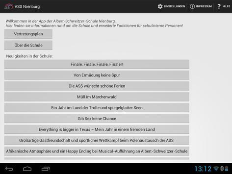 SchulApp ASS Nienburg screenshot 7