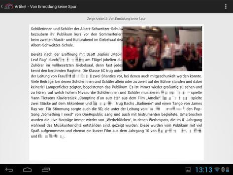 SchulApp ASS Nienburg screenshot 8