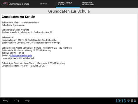 SchulApp ASS Nienburg screenshot 9