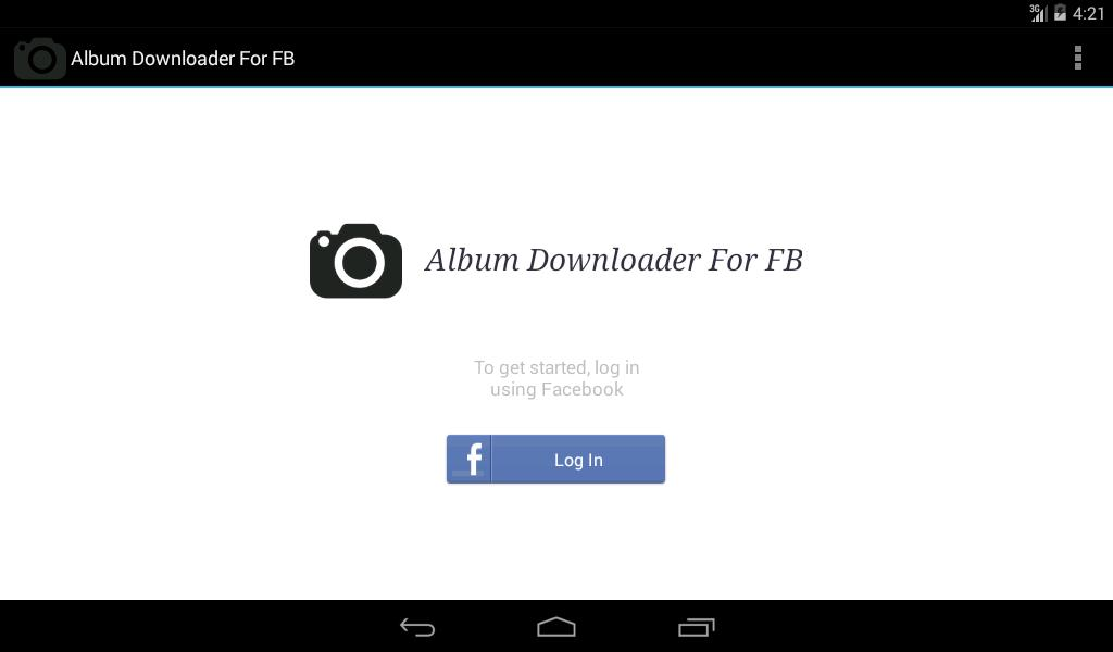 Album Downloader For FB for Android - APK Download