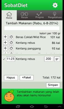 Sobat Diet screenshot 2