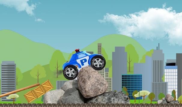 Robocar Highway Poli Racer poster