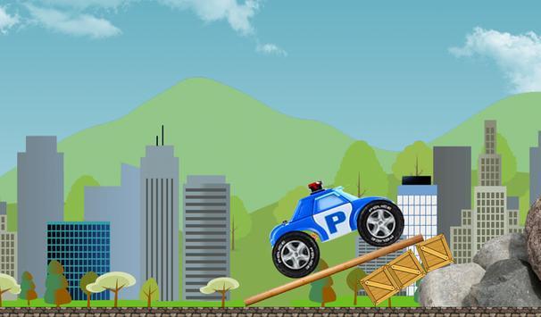 Robocar Highway Poli Racer apk screenshot