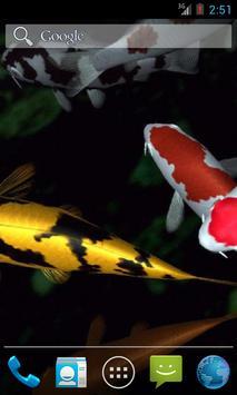 Magic touch: Koi Fish poster