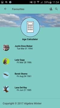 Age Calculator screenshot 1