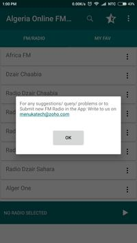 Algeria Online FM Radio screenshot 8