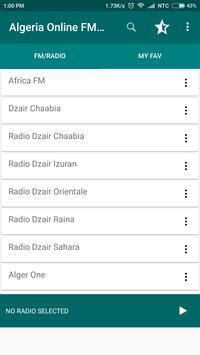 Algeria Online FM Radio screenshot 1