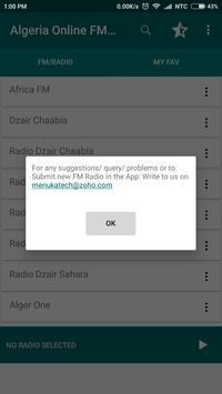 Algeria Online FM Radio screenshot 2