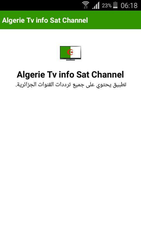 Algerie Tv Info Sat Channel for Android - APK Download