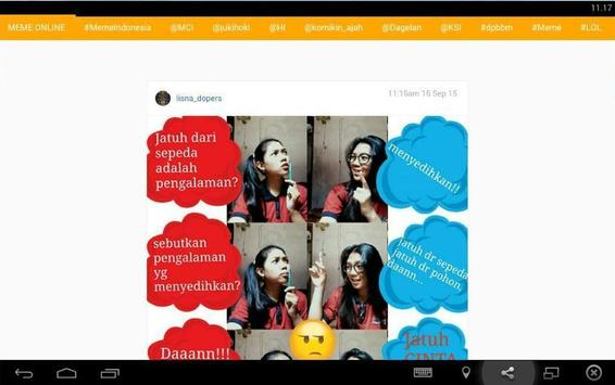 Meme Indonesia apk screenshot