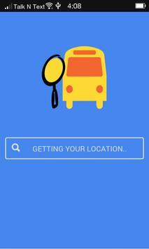 Bus Station Finder poster