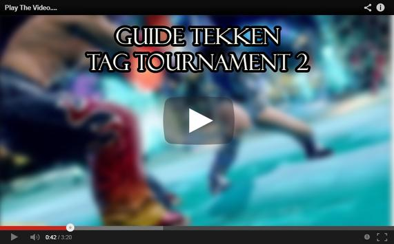 Guide Tekken Tag Tournament 2 screenshot 3