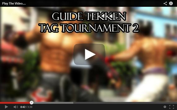 Guide Tekken Tag Tournament 2 poster