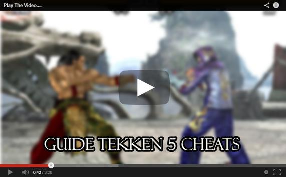 Guide Tekken 5 Cheats screenshot 3