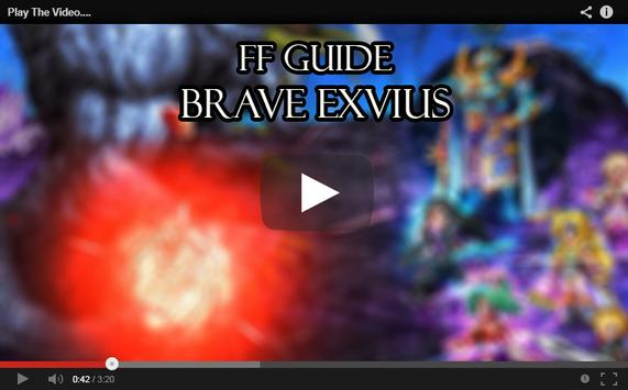 FF Guide Brave Exvius poster