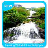 Amazing Waterfall Live Wallpaper icon