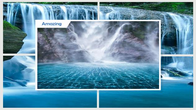 Amazing Waterfall Live Wallpaper Apk Screenshot