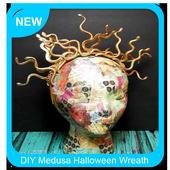 DIY Medusa Halloween Wreath Tutorial icon