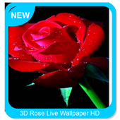 3D Rose Live Wallpaper HD icon