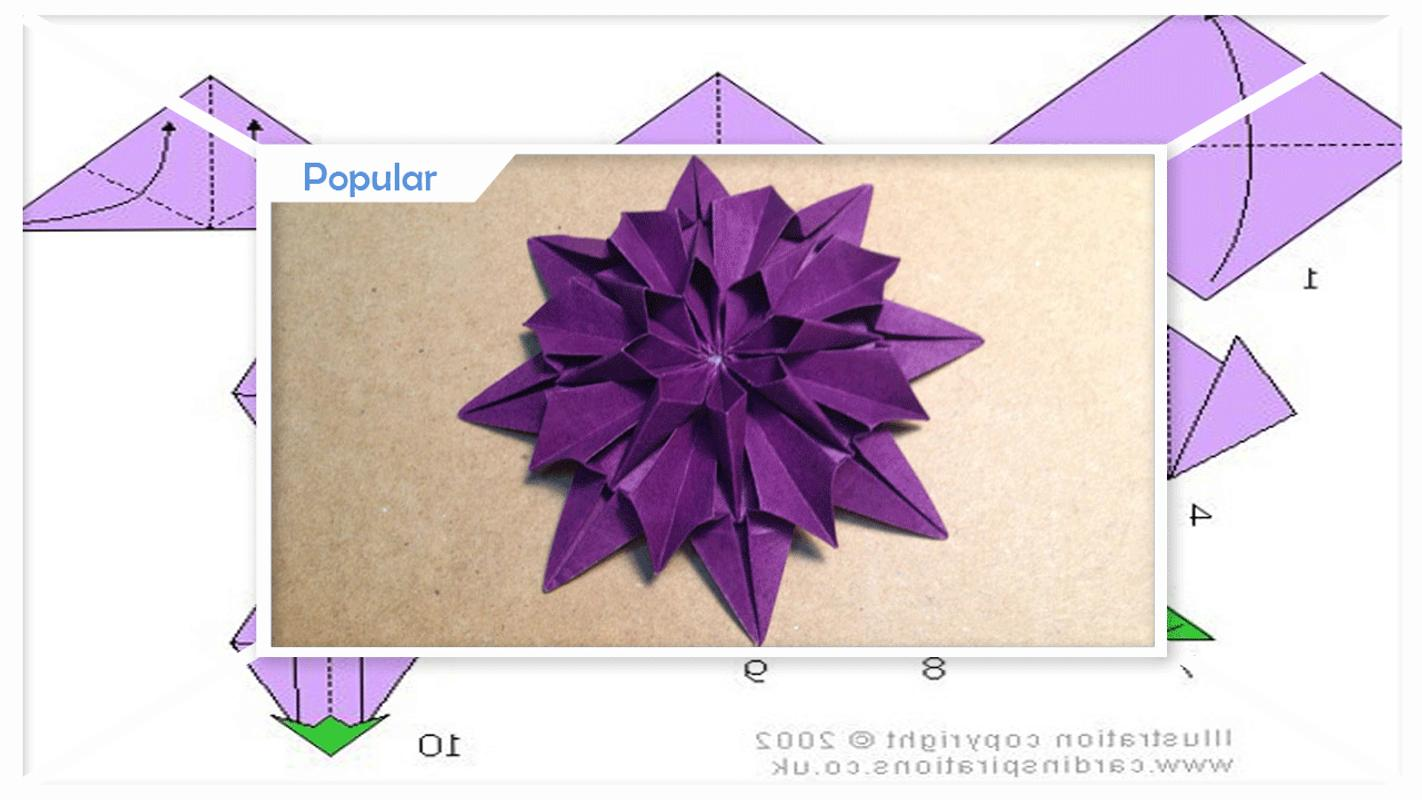 Origami Flowers Step By Step Pour Android Tlchargez Lapk